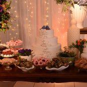 Estrutura para casamento mesa