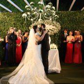 Estrutura para casamento noivos